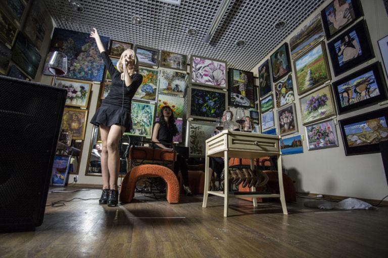 Елена Берсенёва в галерее Джазиум