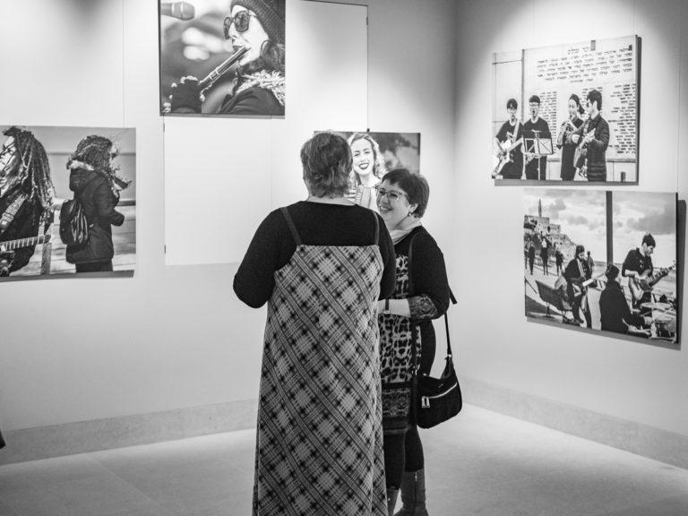 Фотовыставка Бориса Биленкина в Победе