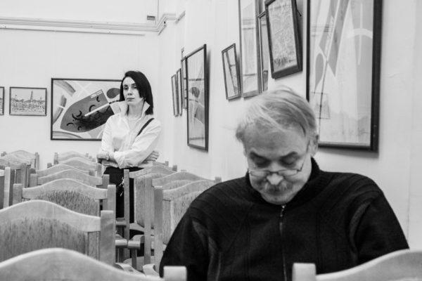 Открытие выставки Михаила Паршикова
