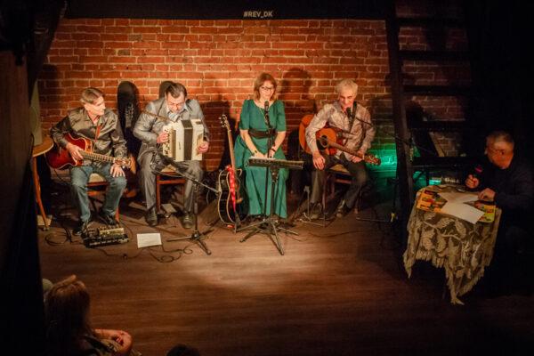 Концерт группы Агма в клубе Революция
