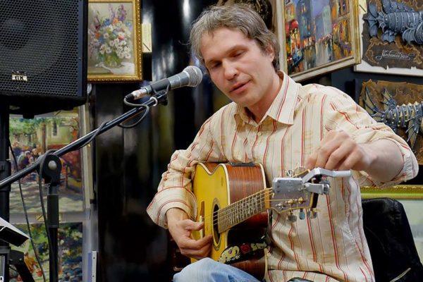 Андрей Бессонов. Unplugged в галерее Jazzium