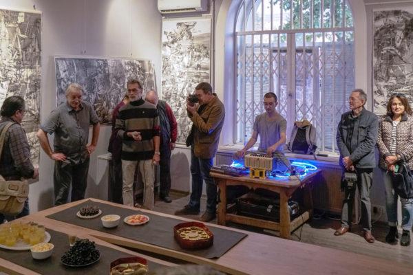 Выставка Сергея Гребенникова в СХР